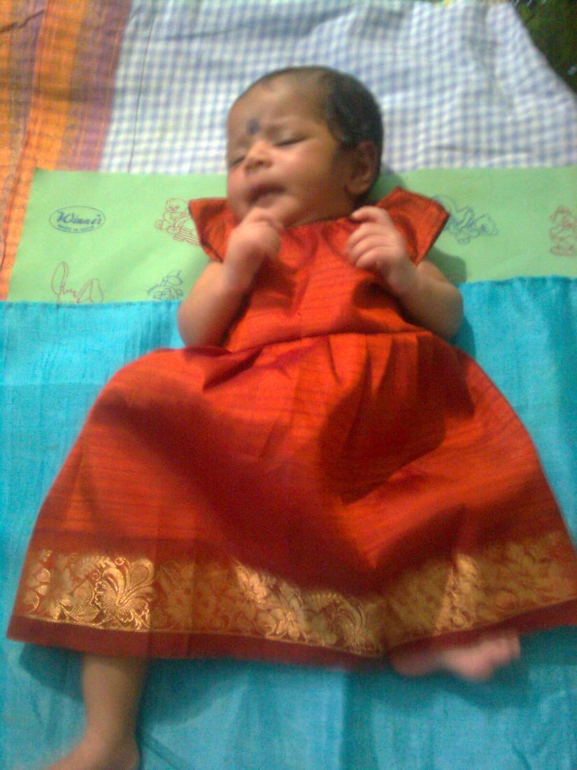 Lil Angel's traditional wear :)