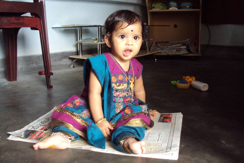 Hurray!!! I have started sitting on my own now :)