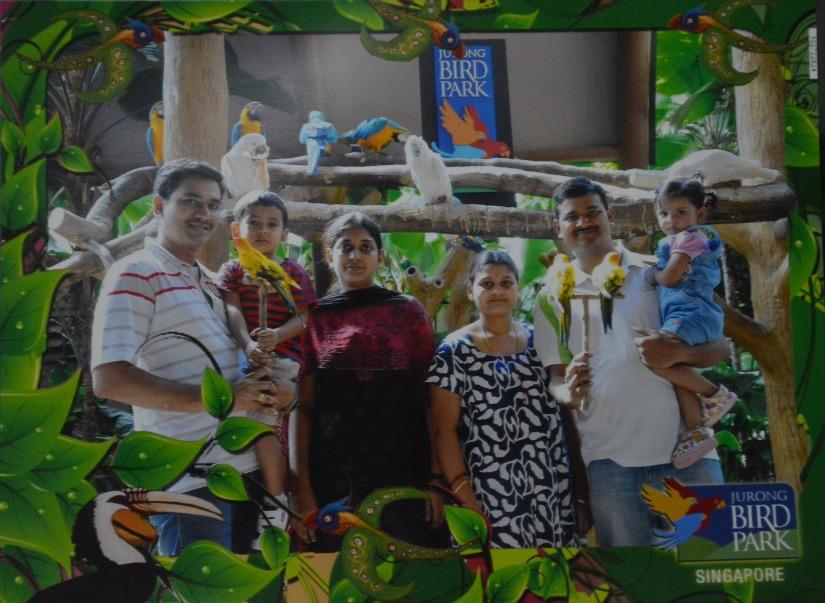Bird Park with Anna's family